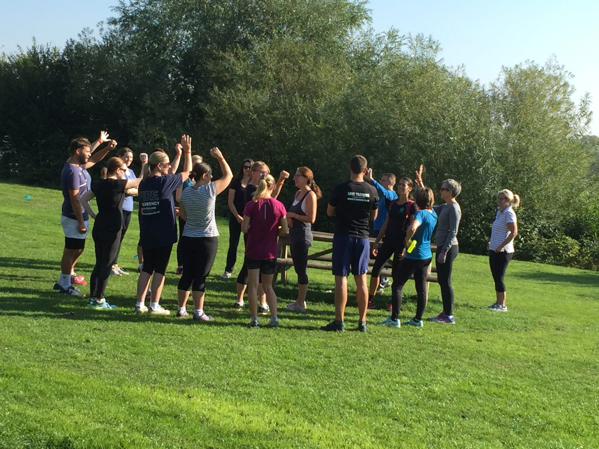 Group Fitness Sessions in Harrold-Odell Park – Amazing Start