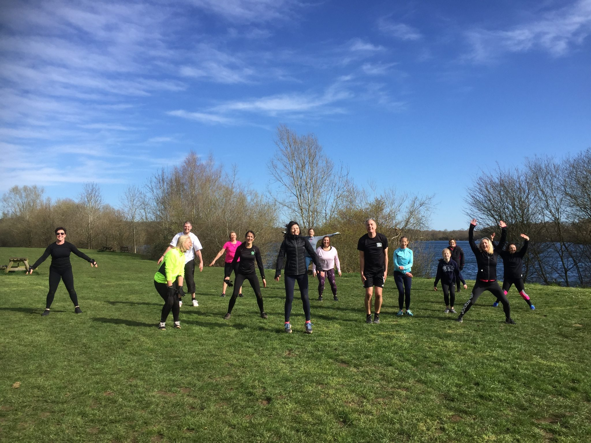 It's official – it's fine to work out in the park